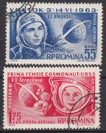 ROEMENIË - Michel - 1963 - Nr 2171/72 - Gest/Obl/Us - Airmail