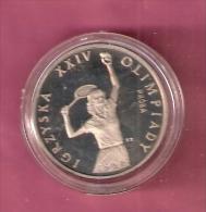 POLEN 200 ZLOTYCH 1987  PROBA TENNIS - Poland