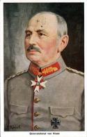 GENERAL OBERST VON GLUCK, Eisernes Kreuz Abzeichen, Künstlerkarte S.Hurnert - Personen