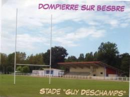 "DOMPIERRE Sur BESBRE Stade ""Guy Deschamps"" (03) - Rugby"