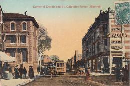 22688  MONTREAL Corner Of Dennis And St Catherine Street -JV 104676 Stadium Parfumerie - Montreal