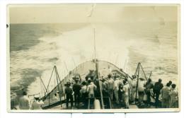 Originele Foto Militair - Marine - Sumatra Volle Krachtproef - Size 9 Cm X 13 Cm - Guerre, Militaire
