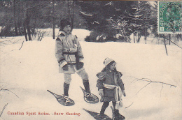 22693 CANADA Canadian Sport Series -snow Shoeing -montreal Import 319 Raquette Enfant  Sports Hiver