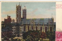 22698 CANADA Quebec Montreal - Eglise Notre Dame -sans Ed ! Pliure ! - Montreal