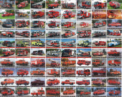 A04380 China Phone Cards Fire Engine Puzzle 320pcs - Firemen