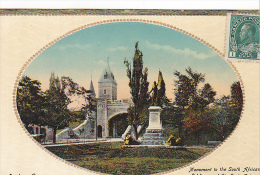 22700 CANADA Quebec Monument To South African Soldiers And St Louis Gate -Novelty Mfg 495
