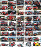 A04385 China Phone Cards Fire Engine Puzzle 180pcs - Firemen
