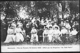 CPA Marmande Fête Du Foulard 18 Octobre 1908 - France