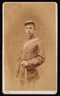 Around 1870 OLD PHOTO CDV  -  SOLDAT ANGLAIS - SOLDIER - SOLDAAT - 10.5 X 6cm - PHOTO FRANK COOPER LONDON - Photos