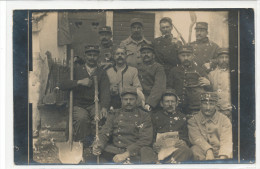 Groupe Militaire A Identifier  ( Carte Photo ) - Personen