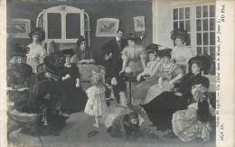 Réf : A-14-0889 : Salon De 1908 Un Début Dans Le Monde Par Jonas L. - Ansichtskarten