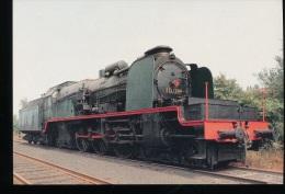 Belgique -- Locomotive  A Vapeur Type 10 - Eisenbahnen
