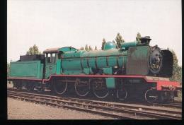 Belgique -- Locomotive  A Vapeur Type 7 - Eisenbahnen
