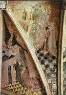 Kernascléden - Fresques De La Voûte Du XVe Siècle - Un Ange Apparaît à Ste Anne - FRANCE - Altri Comuni