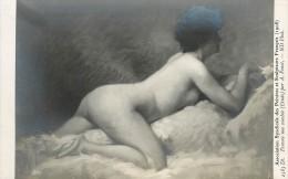 Réf : A-14-0900 : Association Syndicale Des Peintres Et Sculpteurs Français  1908 Femme Nue Couchée Par A. Penet - Ansichtskarten