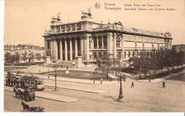 Antwerpen- Anvers-Koninklijk Museum Van Schoone Kunsten-Tram N°3 -Tramway-Attelages-edit. Nels - Antwerpen