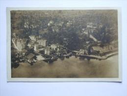 SWITZERLAND 1925 POSTCARD WEGGIS FROM THE AIR - LU Lucerne