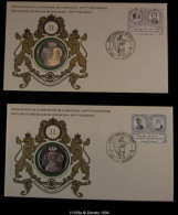 15108 - 1980 La Dynastie Belge Série De Numisletter- Emission Commémorative - Medaillen