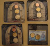 17040 - TX - 3 Sets Republica Di San Marino En Euros, Années 2005 Et 1 Set Année 2003 - Saint-Marin