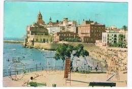 ES1251    SITGES : Playa De San Sebastian ( Playground) - Barcelona