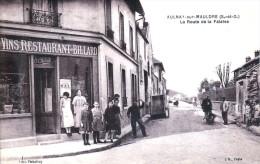 Aulnay-sur-Mauldre, Canton D(Aubergenville - Route De La Falaise - Restaurant CHEVAL - Très Belle Animation - Aubergenville