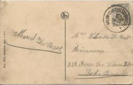 TP 280 S/CP C.Ambulant Arlon-Bruxelles-Brussel 4 29/6/1934 V.Bruxelles PR489 - Ambulants