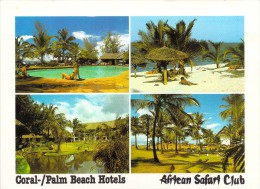 Afrique > KENYA  AFRICAN SAFARI CLUB Coral / Palm Beach Hotels (Multi Vues) *PRIX FIXE - Kenya