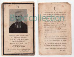 Vollore-Ville, Mémento Du Père Léon Demars, Curé, 6/05/1926, Souvenir Mortuaire - Devotieprenten