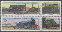 Bophuthatswana 1991 Yvert 298-01, Trains And Steam Engines (II) - MNH - Bophuthatswana
