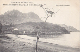 France - Polynésie - Colonies Françaises -  Etbs Français Océanie - Les Marquises - Polynésie Française