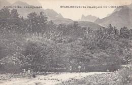 France - Polynésie - Colonies Françaises -  Tahiti Montagne Diadème - Polynésie Française
