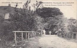 France - Polynésie - Colonies Françaises - Etbs Français Océanie - Pont De Punaru - Punaama - Polynésie Française