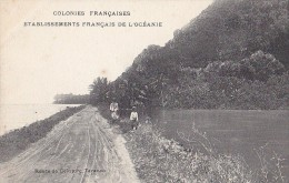 France - Polynésie - Colonies Françaises - Etbs Français Océanie - Route De Ceinture Taravao - Polynésie Française