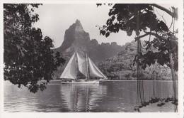 France - Polynésie - Colonies Françaises - Moorea - Bâteaux Voilier - Polynésie Française