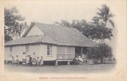 France - Polynésie Française - Moorea -  Précurseur Habitation Fontionnaire Indigène - Polynésie Française