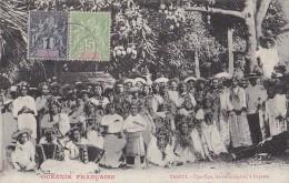 France - Polynésie Française - Océanie -  Tahiti Papeete - Danse Musique Upa-Upa - Affranchissement - Polynésie Française