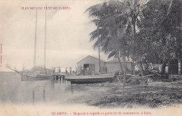 France - Polynésie Française - Océanie -  Huahine - Fare - Magasin à Coprah - Bâteaux Goelette - Polynésie Française