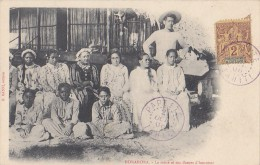 France - Polynésie Française - Précurseur -  Bora Bora -  Reine Et Dames D'Honneur - Affranchissement - Polynésie Française