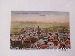 Mähr-Schönberg. - Totalansicht. Grüsse Aus Hermesdorf. - Czech Republic