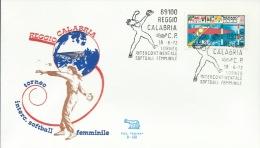 REGGIO CALABRIA- TORNEO INTERCONTINENTALE SOFTBALL FEMMINILE-18-6-1972 - Timbres