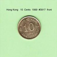 HONG KONG    10  CENTS  1989   (KM # 55) - Hong Kong