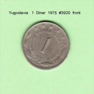 YUGOSLAVIA    1  DINAR  1975   (KM # 59) - Yugoslavia