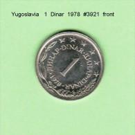 YUGOSLAVIA    1  DINAR  1978   (KM # 59) - Yugoslavia