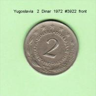 YUGOSLAVIA    2  DINAR  1972   (KM # 57) - Yugoslavia