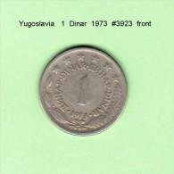 YUGOSLAVIA    1  DINAR  1973   (KM # 59) - Yugoslavia