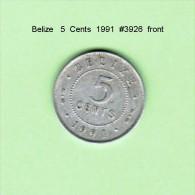BELIZE    5  CENTS  1991   (KM # 34a) - Belize