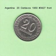 ARGENTINA    20  CENTAVOS   1950   (KM # 45) - Argentina