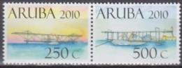 Antilles - Aruba 2010 Yvert 449-50, Aviation, Historical Airplanes - MNH - Curaçao, Antilles Neérlandaises, Aruba