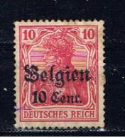 DR Deutsches Reich Belgien 1916 Mi 14 Germania - Occupation 1914-18