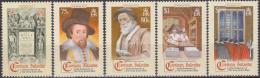 Cayman Islands 2011 Yvert 1162-66, Christmas, 400th Anniversarie King James Bible - MNH - Iles Caïmans